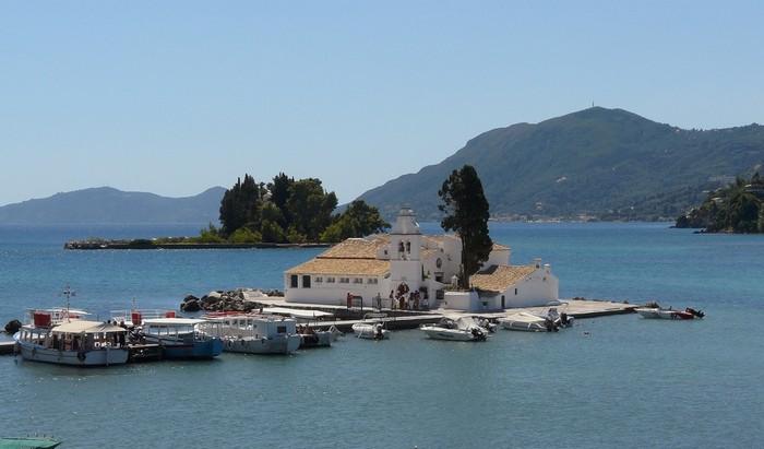Pontikonisi ...The landmark of Corfu island