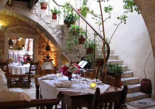 Restaurants in Corfu